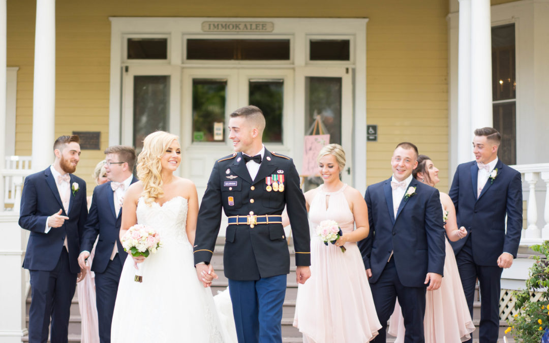 {Katie & Tyler} Burroughs Home and Gardens Weddings